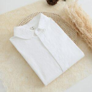 Chemise Blanche Brodée Femme 33 | Soirée Blanche