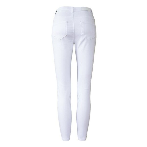 Jean Slim Blanc Femme 3   Soirée Blanche