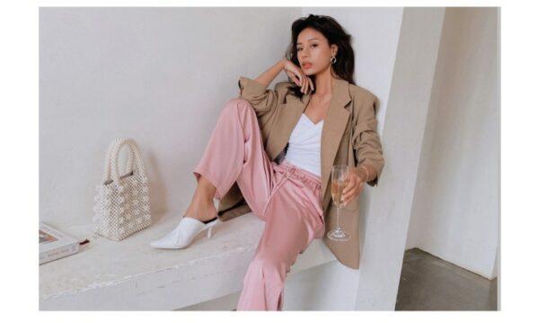 Pantalon Blanc Fluide 7 | Soirée Blanche