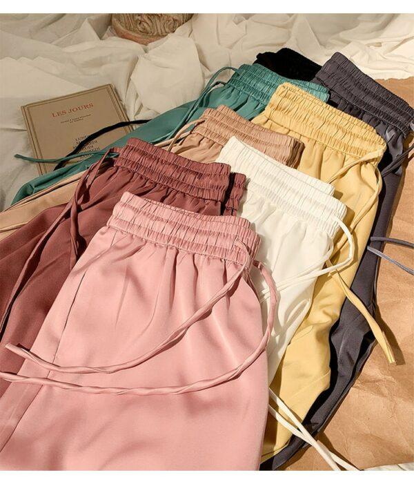 Pantalon Blanc Fluide 4 | Soirée Blanche