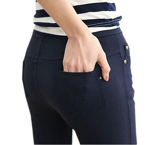 Pantalon Blanc Femme Slim 3   Soirée Blanche
