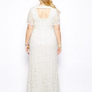 Robe Blanche Grande Taille 4 | Soirée Blanche