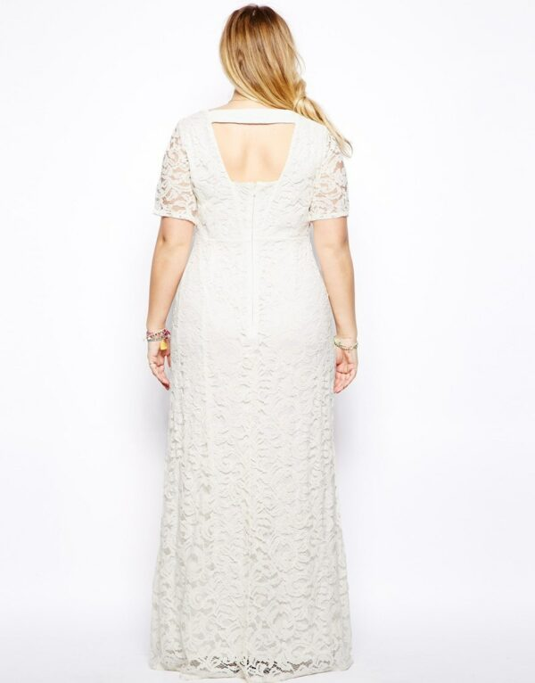 Robe Blanche Grande Taille 2 | Soirée Blanche