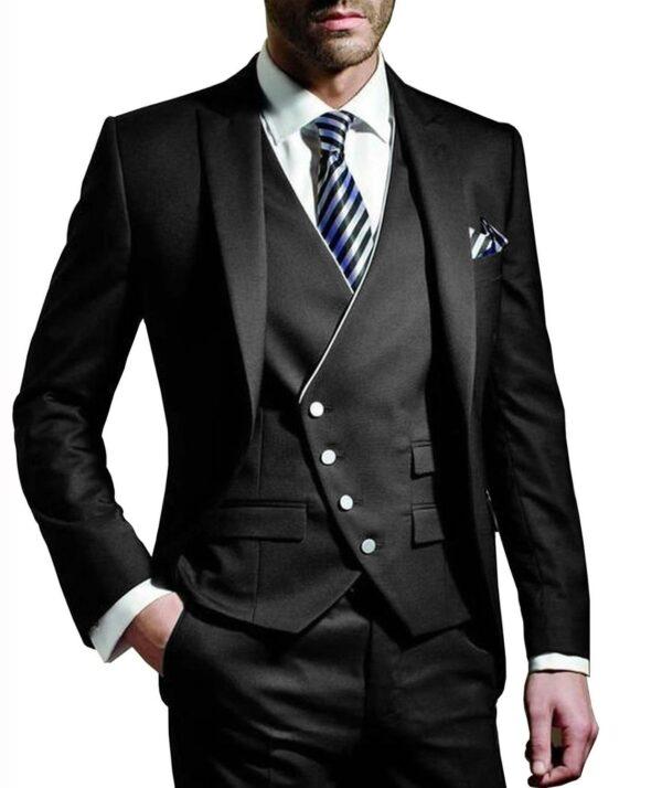 Costume Blanc Homme Chic 3 Pièces 10 | Soirée Blanche