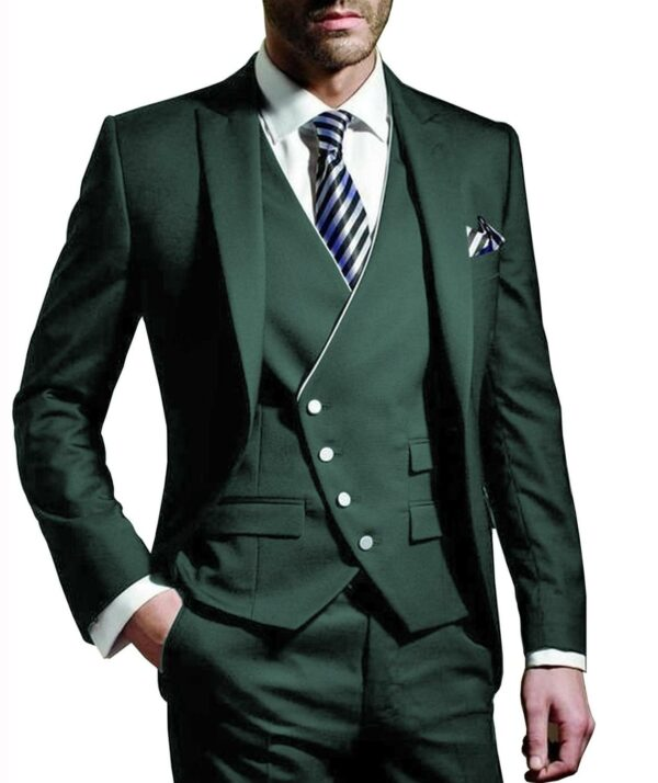 Costume Blanc Homme Chic 3 Pièces 7 | Soirée Blanche