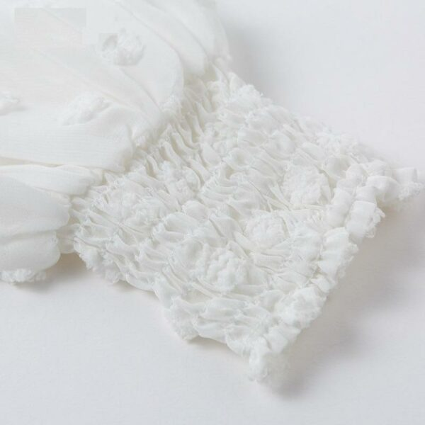 Robe Blanche Dentelle Sans Manches - Soirée Blanche