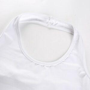 Crop Top Blanc - Soirée Blanche