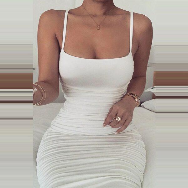 Robe Blanche Monlante | Soirée Blanche