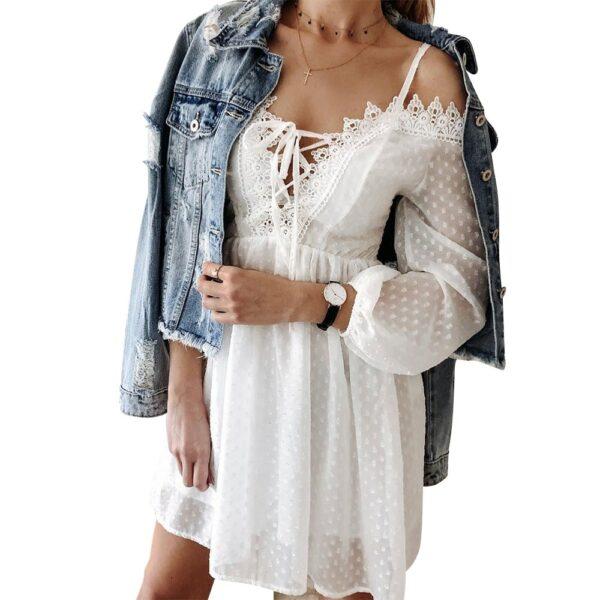 Robe Blanche Bohème | Soirée Blanche