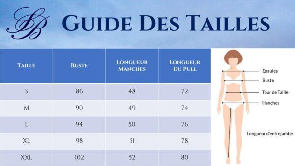 Pull Blanc Femme Long 12 | Soirée Blanche