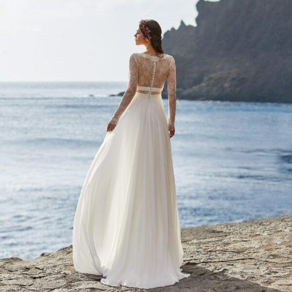 Robe De Mariée Blanche 2 | Soirée Blanche