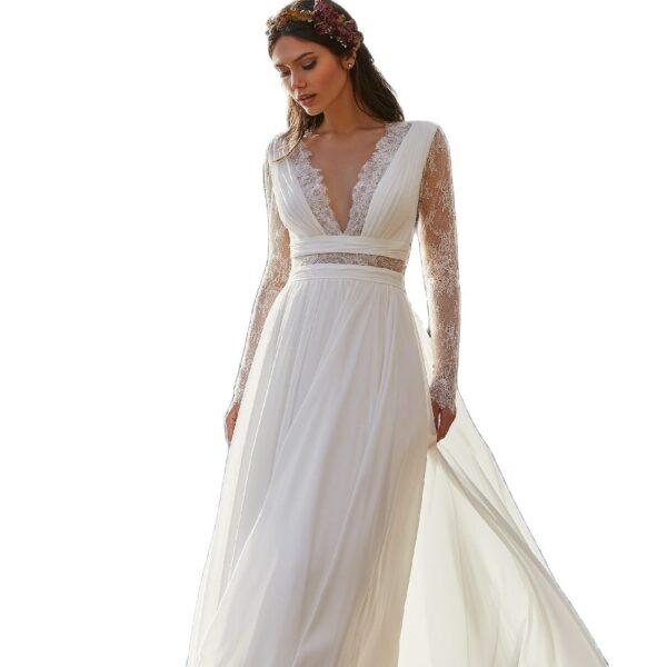 Robe De Mariée Blanche 4 | Soirée Blanche