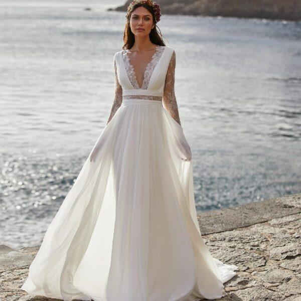 Robe De Mariée Blanche 1 | Soirée Blanche