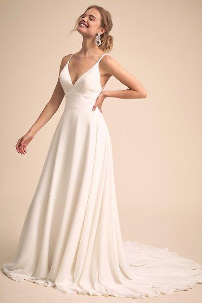 Robe De Mariée Bohème Chic | Soirée Blanche