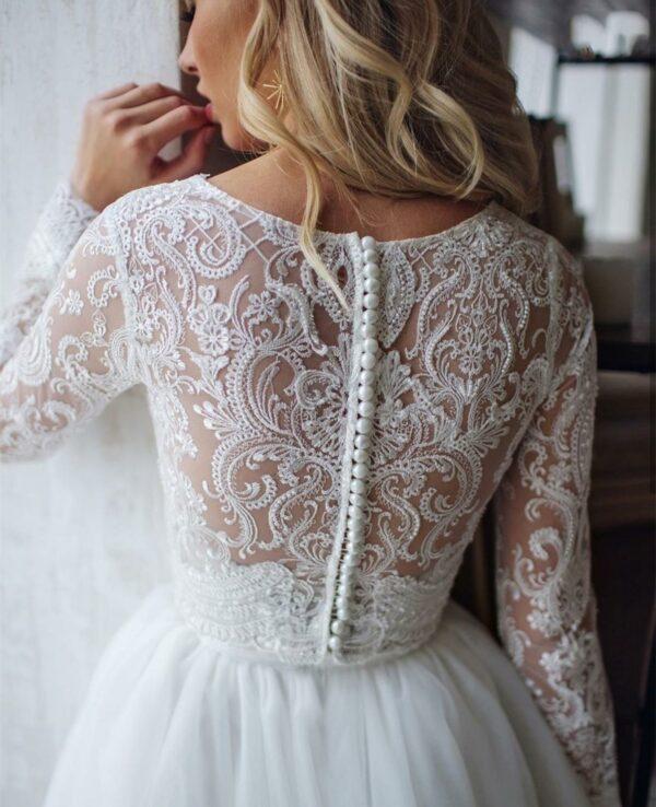 Robe De Mariée 2 En 1 | Soirée Blanche