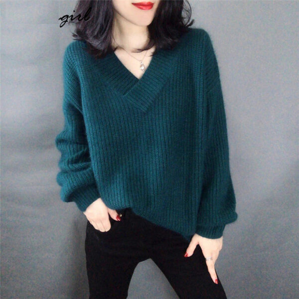Pull Blanc Col V Femme | Soirée Blanche