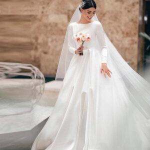 Robe De Mariée Style Meghan Markle | Soirée Blanche