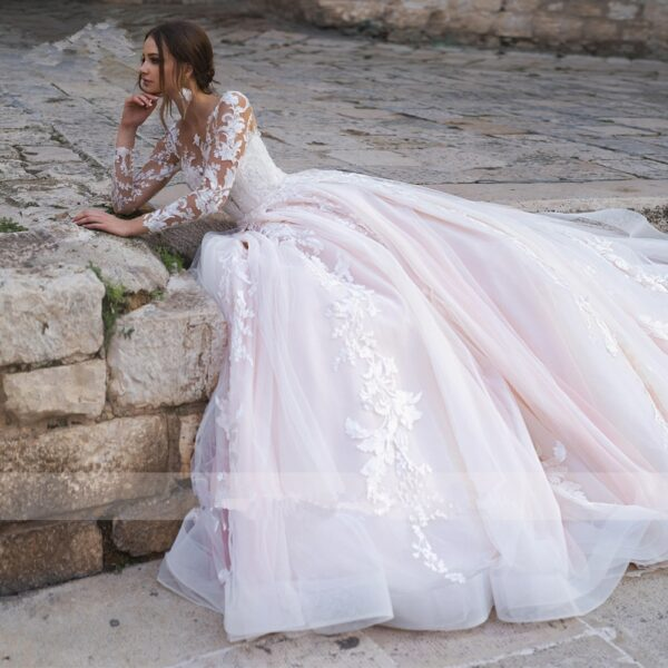Robe De Mariée Princesse Bustier | Soirée Blanche