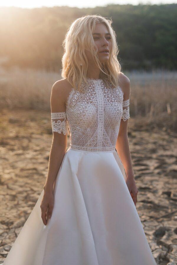 Robe De Mariée Style Bohème | Soirée Blanche