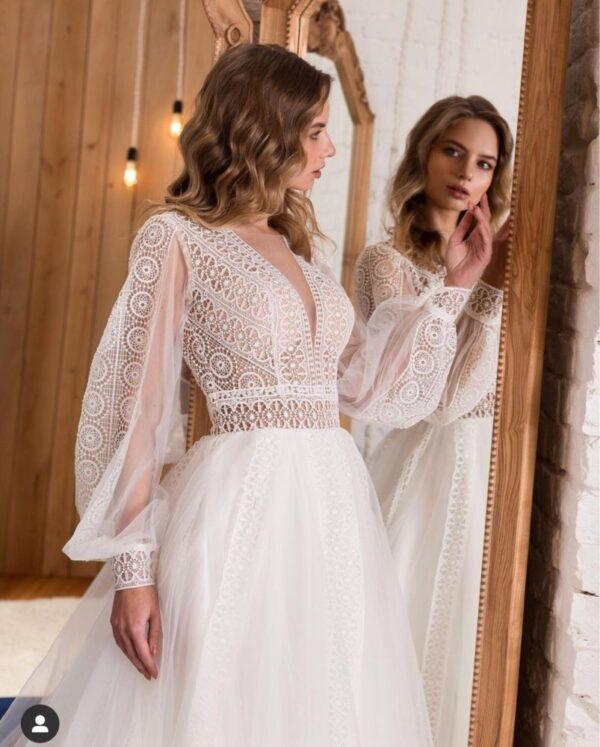 Robe De Mariée Vintage Sexy Blanche | Soirée Blanche