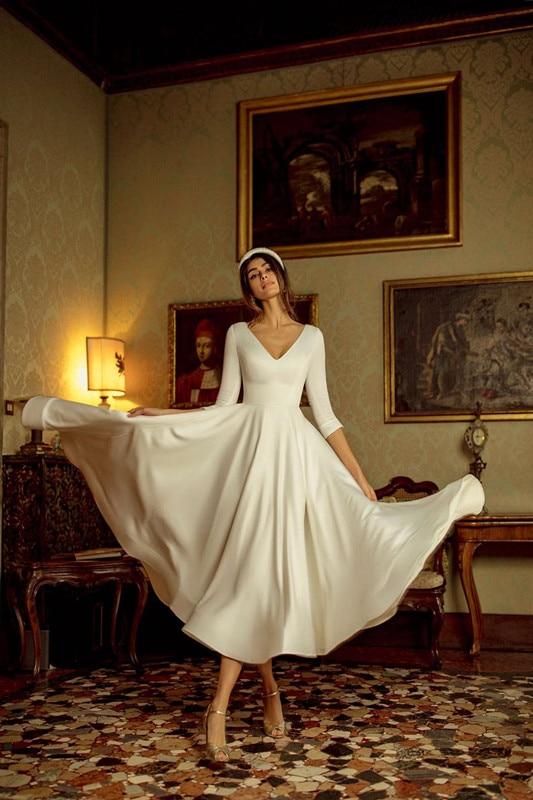 Robe De Mariée Courte Bohème | Soirée Blanche