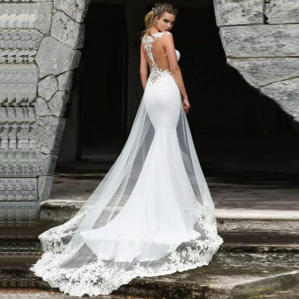 Robe De Mariage Sirène | Soirée Blanche