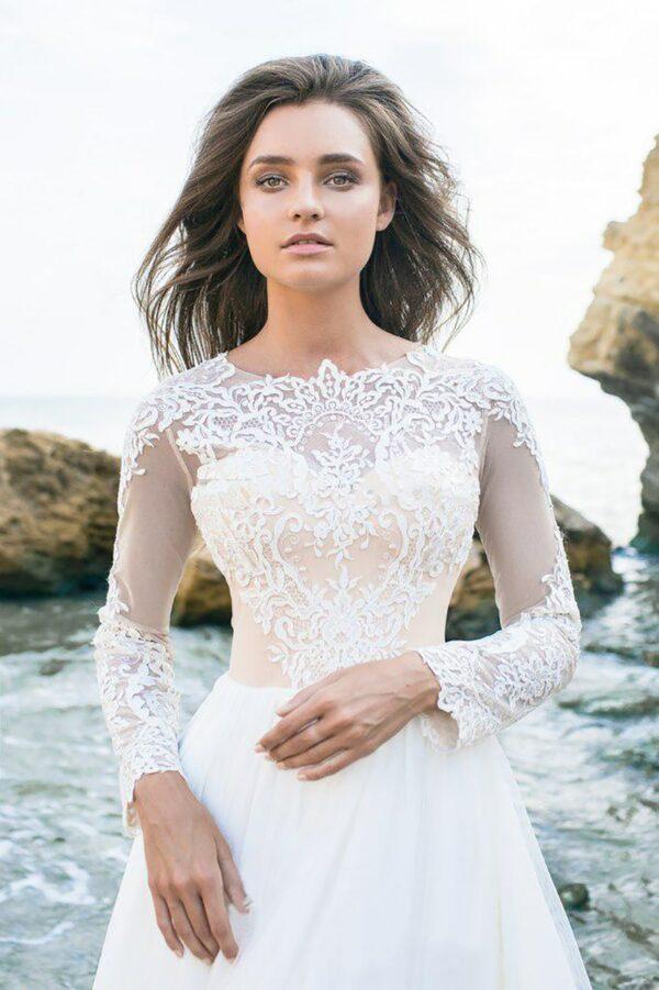 Robe De Mariée Romantique Champêtre   Soirée Blanche