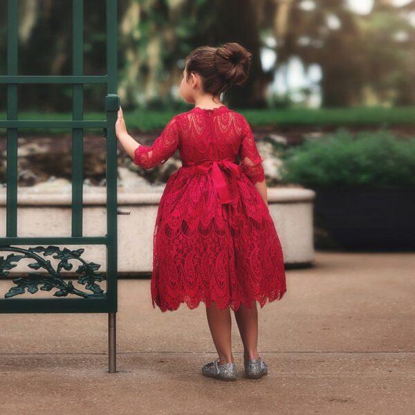 Robe Blanche Fille | Soirée Blanche