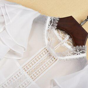 Combinaison Femme Blanche Chic   Soirée Blanche
