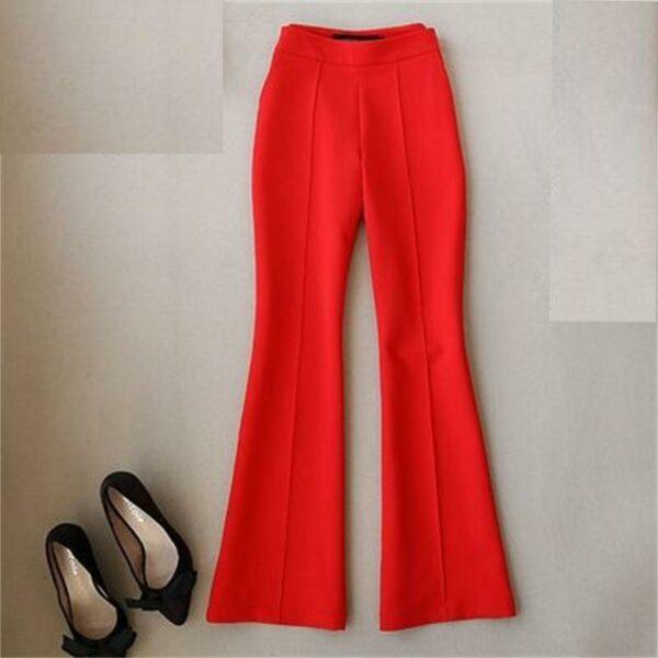 Pantalon Blanc Bootcut Femme | Soirée Blanche