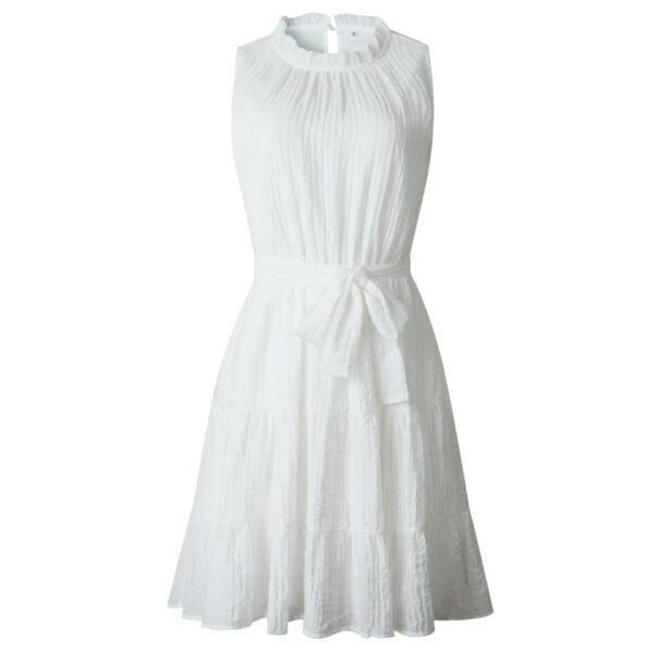 Robe Blanche Eté Femme   Soirée Blanche