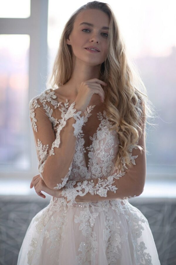 Robe De Mariée Princesse Avec Strass Blanche | Soirée Blanche