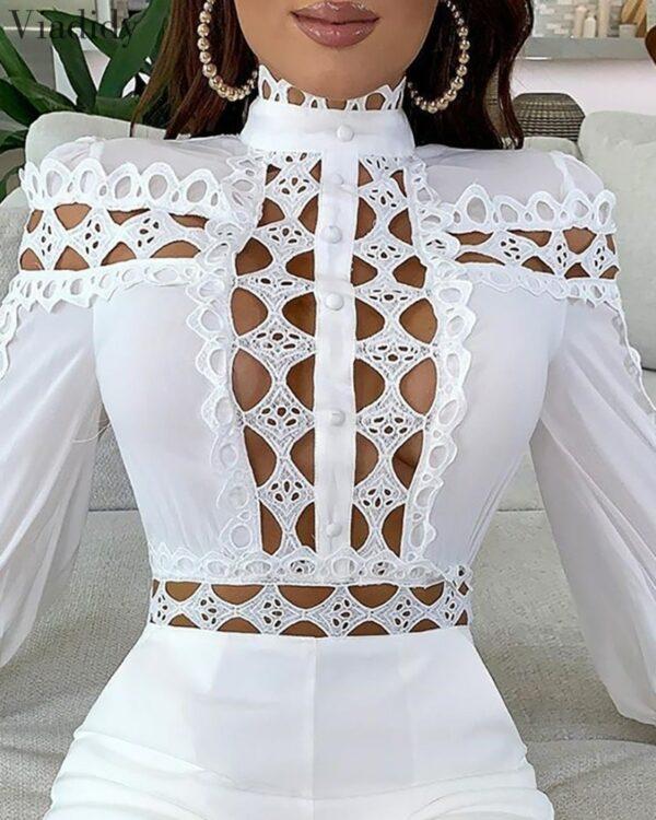 Combishort Blanc Court Moulant et Transparent | Soirée Blanche