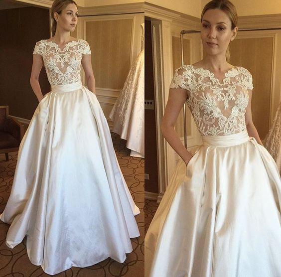 Robe De Mariée Vintage | Soirée Blanche