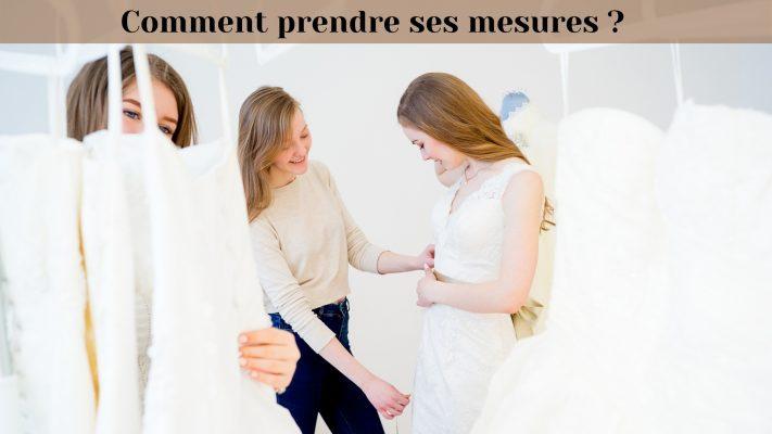 Comment prendre ses mesures ? Guide pour femmes | Soirée Blanche
