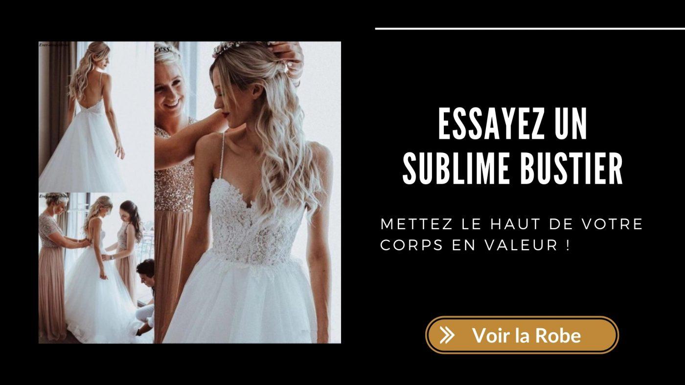 Robe-Blanche-de-Mariee-Bustier-Soiree-Blanche