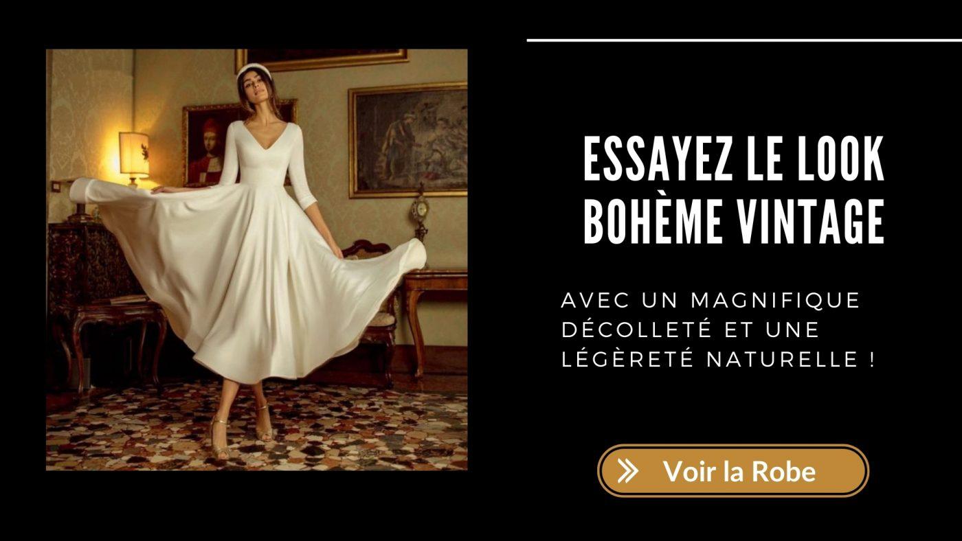 Quelle robe de mariée choisir quand on a 50 ans ? 10 robes conseillées 5 | Soirée Blanche