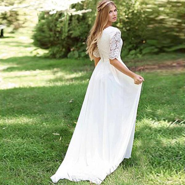 Robe De Mariée Plage Blanche | Soirée Blanche