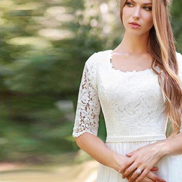 Robe De Mariée Plage | Soirée Blanche