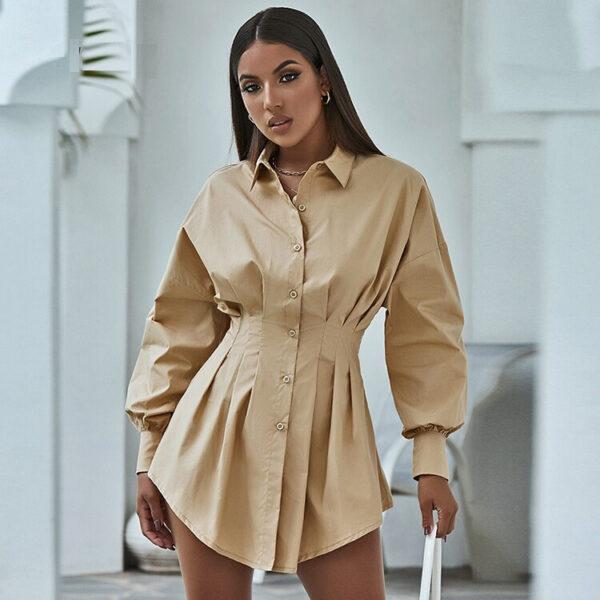 Robe Chemise Blanche | Soirée Blanche