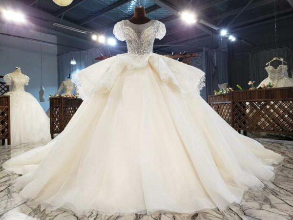 Robe De Mariée Magnifique | Soirée Blanche