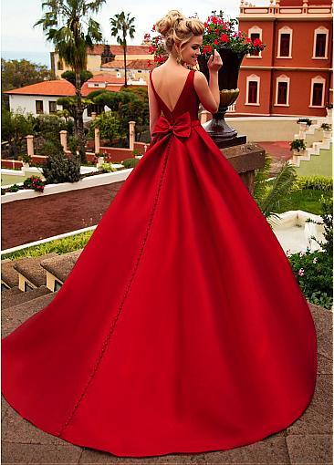 Robe De Mariée Rouge | Soirée Blanche