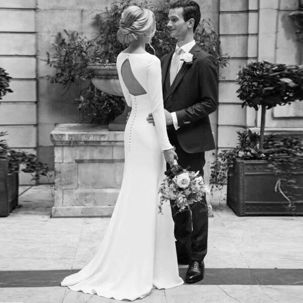 Robe De Mariée Civile | Soirée Blanche