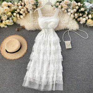 Robe Blanche Volant | Soirée Blanche