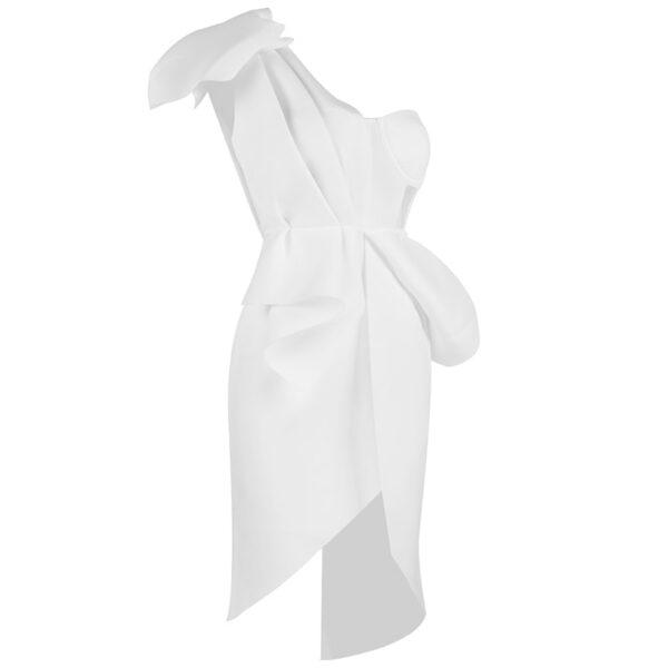 Robe de Soirée Blanche Courte | Soirée Blanche