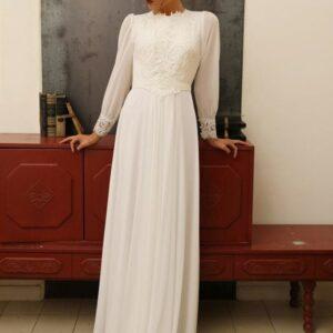 Robe De Mariée Rétro Blanche | Soirée Blanche
