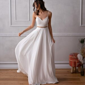 Robe De Mariée 2 Pièces | Soirée blanche
