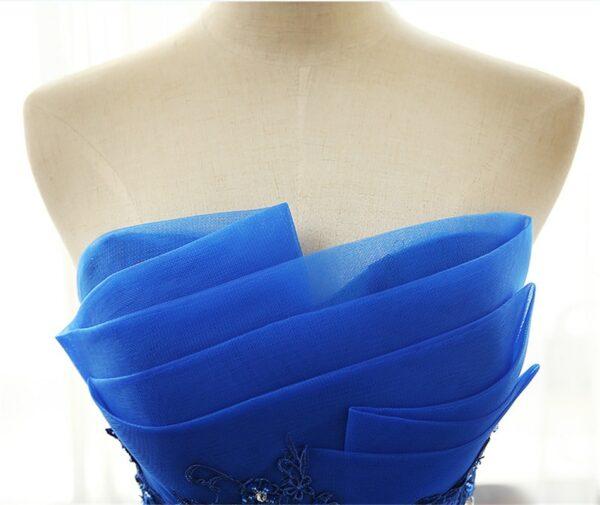 Robe De Mariée Bleue | Soirée Blanche