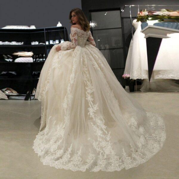 Robe De Mariée Hiver Blanche | Soirée Blanche