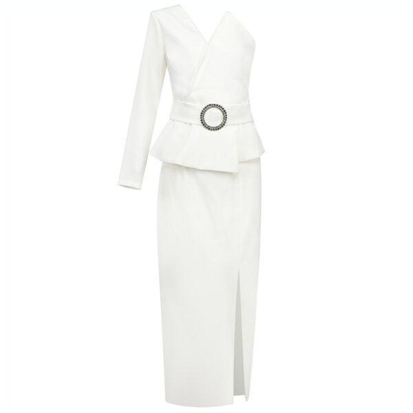 Robe Blanche Cocktail Fashion | Soirée Blanche